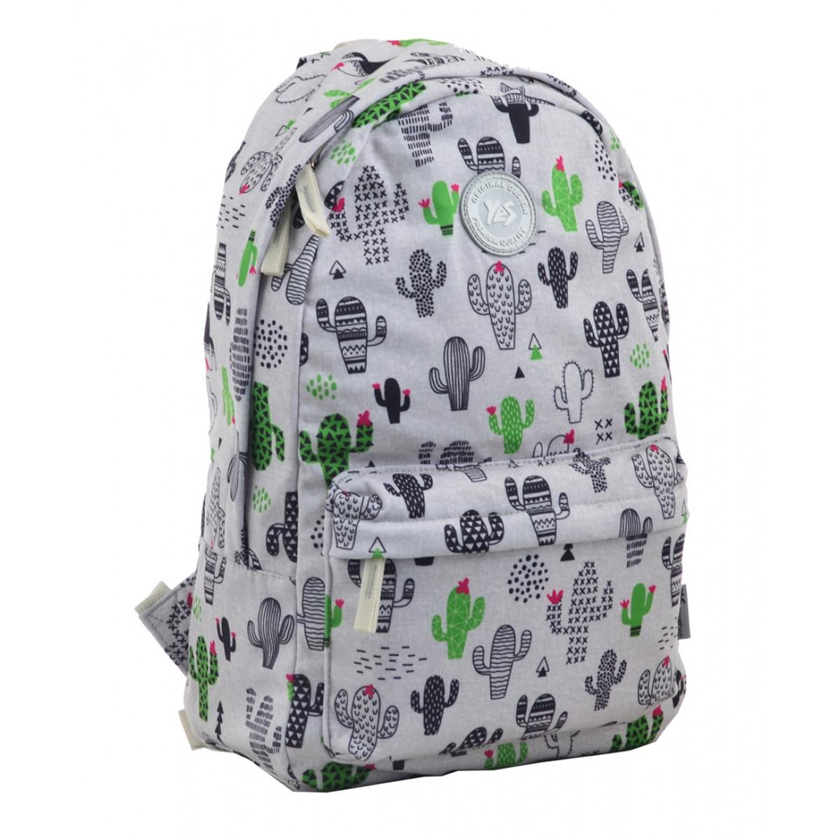 Рюкзак молодежный YES ST-31 Cactus, 44*28*14 555424
