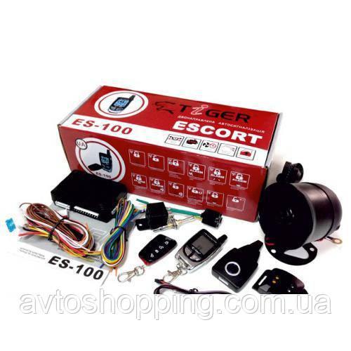 Сигнализ Tiger Escort ES-200 двухсторонняя (с сиреной) (ES-200)