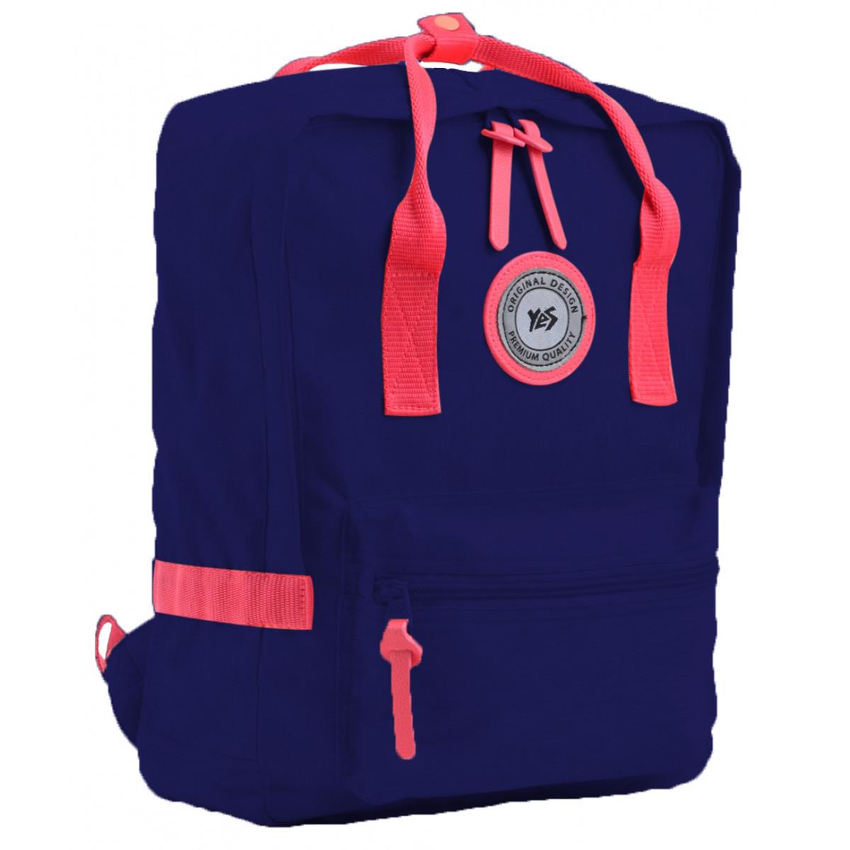 Рюкзак подростковый YES ST-24 Navy peony, 36*25.5*13.5 555581