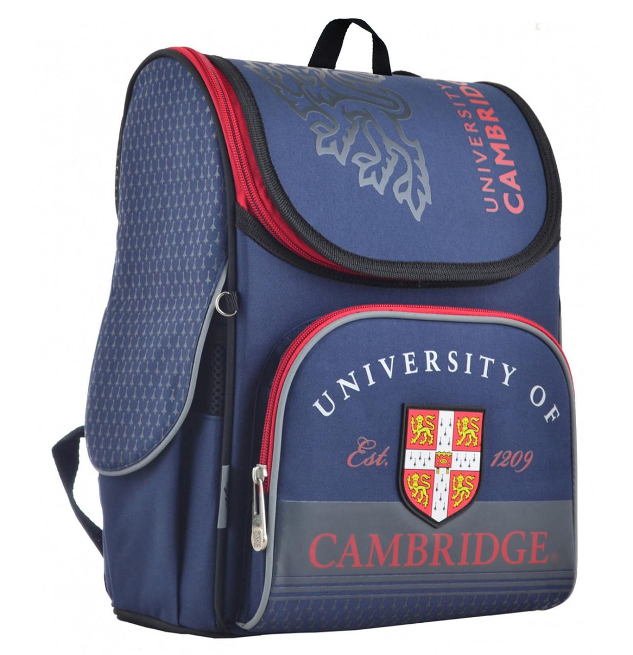 Рюкзак школьный каркасный YES H-11 Cambridge, 33.5*26*13.5 555134