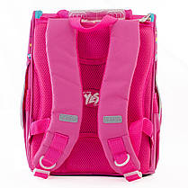 Рюкзак школьный каркасный YES H-11 Unicorn blue, 33.5*26*13.5 555196, фото 3