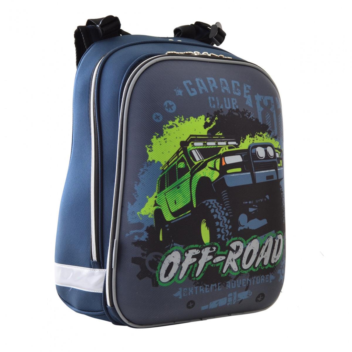 Рюкзак школьный каркасный 1 Вересня H-12 Off-road, 38*29*15 554587