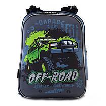 Рюкзак школьный каркасный 1 Вересня H-12 Off-road, 38*29*15 554587, фото 3