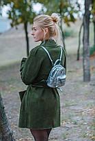 Сумка-рюкзак YES, темно-серый , 17*20*8см 553229, фото 3