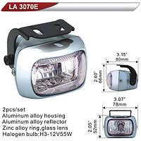 Фары дополнительные  DLAA 3070E-W/H3-12V-55W/78*52mm (LA 3070E-W)