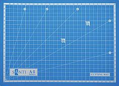 Коврик Santi самовосстанавливающийся для резки А4 952425