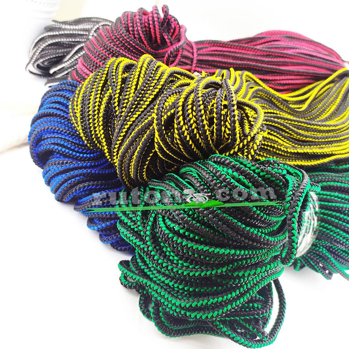 Цветная рыбацкая плетеная веревка 4 мм 100 м