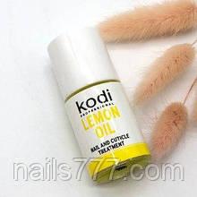 Масло для кутикулы Kodi 15 мл, лимон