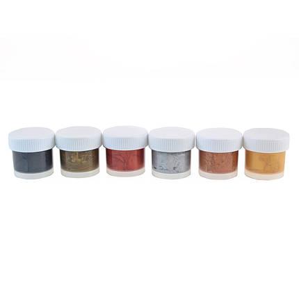 Краски акриловые металлик 6 цв. 15 мл 22С1413-08 350917, фото 2