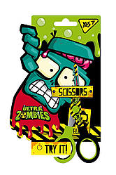 Ножницы YES 13см, с принтом на лезвии Zombie 480393