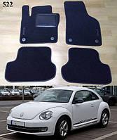 Коврики на Volkswagen Beetle '12-. Текстильные автоковрики