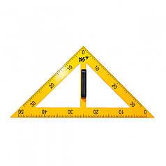 Треугольник YES для доски равнобедренный 370531