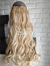 Волосы на заколках волнистые кудрявые мелировка, фото 3