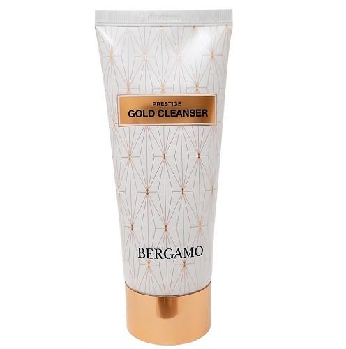 Антивозрастная пенка для умывания Bergamo Prestige Gold Cleanser