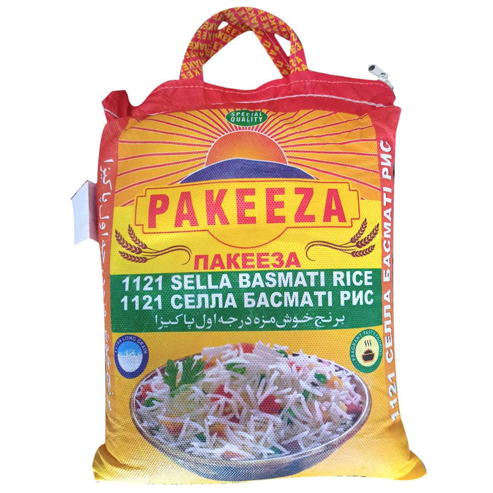 Рис Pakeeza Sella Basmati Rice 1121 10кг + ПОДАРОК: Настенный Фонарик с регулятором BL-8772A