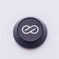 Колпачки в легкосплавные диски Enkei карбон конус/черный (59-65 мм)