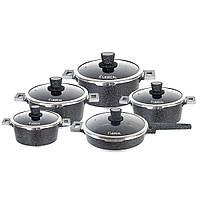 Набор посуды 10 предметов LEXICAL LM-221001-1 + ПОДАРОК: Держатель для телефонa L-301, фото 1