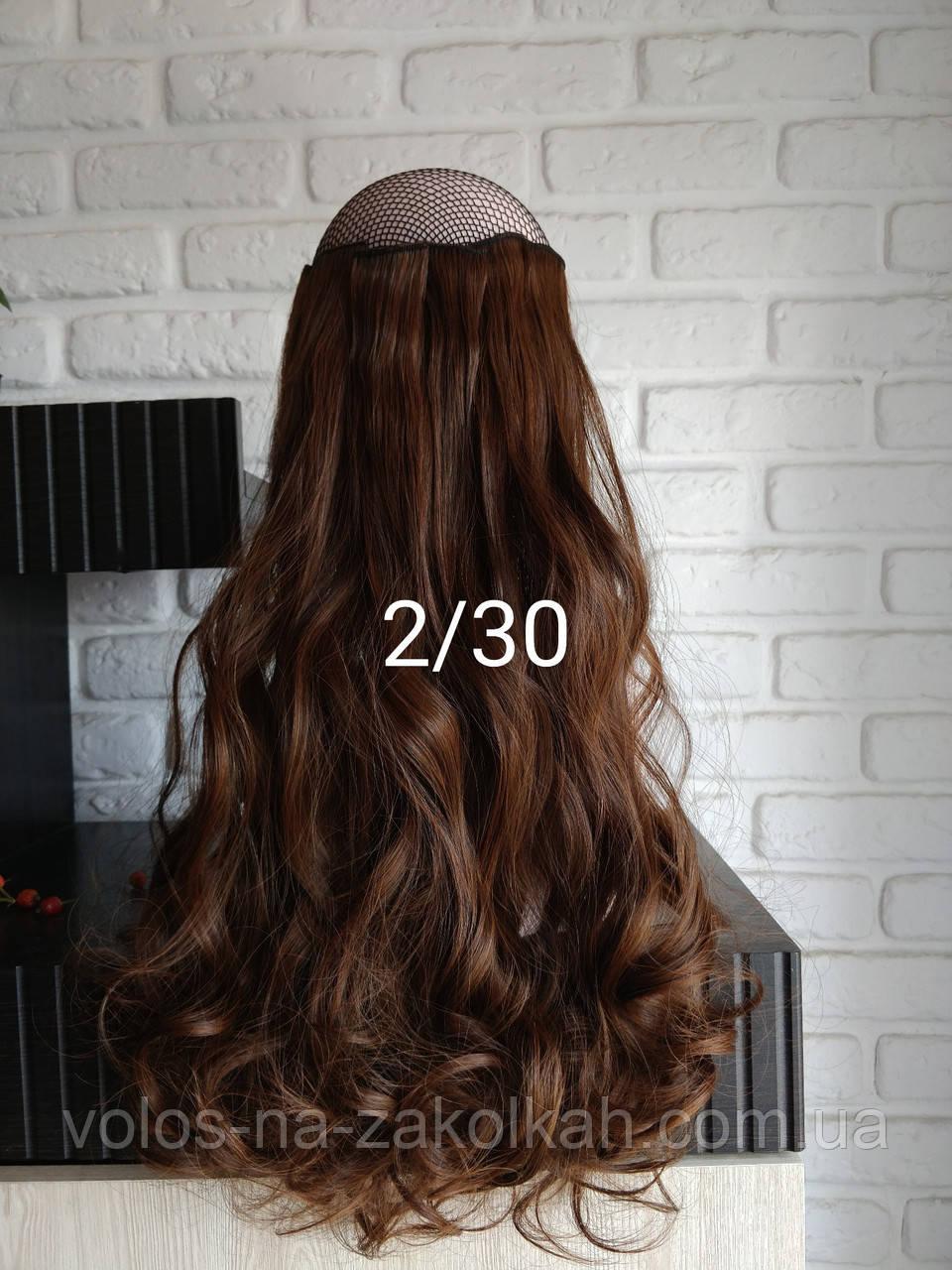 Волосы на заколках кудрявые 2/30
