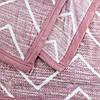 Пледы с зигзагами StarDreams микрофибра розовый, фото 4