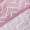 Пледы с зигзагами StarDreams микрофибра розовый, фото 5