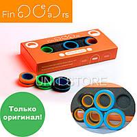 Магнитные кольца спинеры FinGears Size M средний размер Фиджет спиннеры Игрушка антистресс магнит для детей
