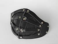 Кожаная маска MSD Apocalisse Черная (5915)