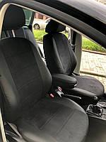 Модельные чехлы для Volkswagen Caddy (7 мест) с 2010 р. EMC-Elegant Antara екокожа+алькантара