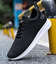 Удобные мужские тканевые кроссовки, фото 3