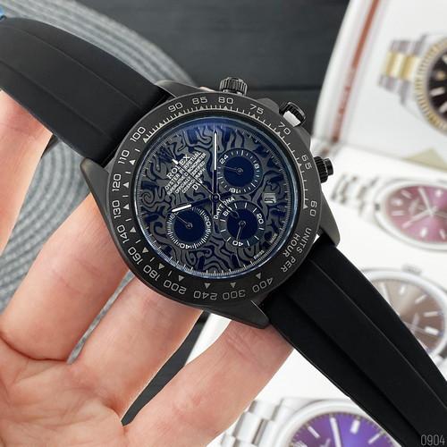 Rolex 350501Pattern  All Black Rubber