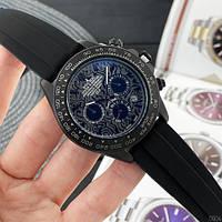Rolex 350501Pattern  All Black Rubber, фото 1