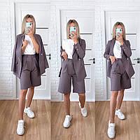 Классический костюм шорты и пиджак