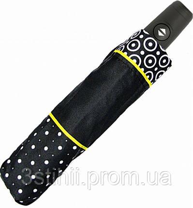 Зонт складной Derby 744165PL-2 полный автомат Желтая полоса, фото 2