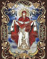 """Набор для рисования картин по номерам икона """"Покрова Пресвятой Богородицы"""""""