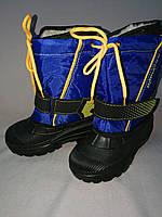 Зимние  дутые сапожки с пеночным низом для  мальчика 28-29, 30-31 размер, фото 1