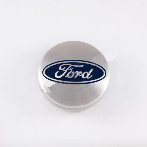 Ковпачок для диска Ford сірий / синій лого 6M211003AA (54 мм)