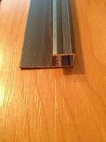 Стартовый профиль 8 мм для ламината (декор дерево)