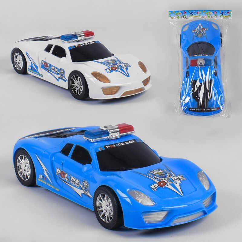 """Машинка 2224 (60/2) """"Полиция"""", 2 цвета, инерция, 1шт в кульке"""