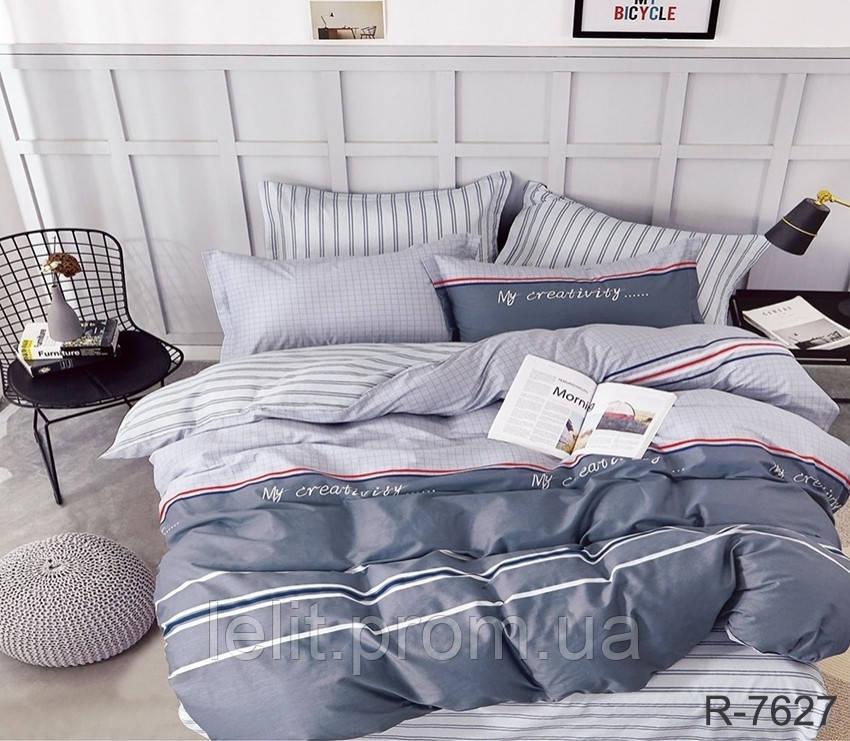 Двоспальний комплект постільної білизни з компаньйоном R7627