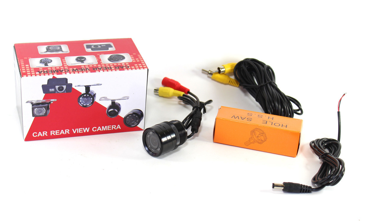Универсальная цветная камера заднего вида с подсветкой 728T Автокамера CAR CAM