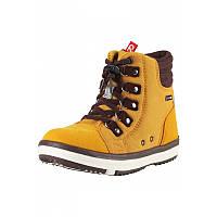 Жёлтые ботинки Wetter Wash унисекс размеры 26;27;29;30;31;32;33;34;35;36;37;38 осень;весна девочка;мальчик TM Reima 569343-2570
