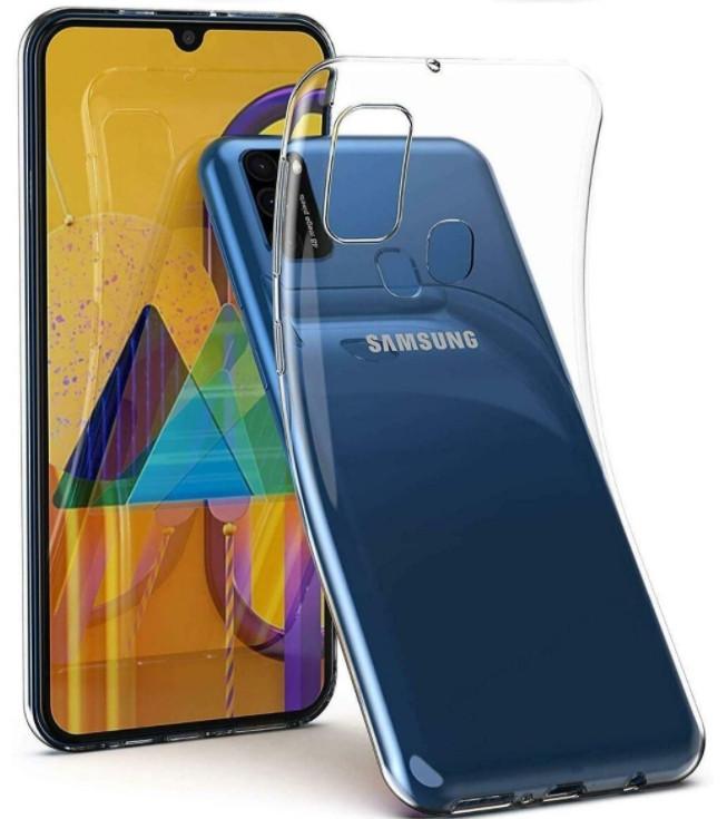 Силиконовый чехол Samsung Galaxy M31 (SM-M315FZKU)