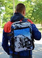 Рюкзак в стилі Supreme x TNF Mountain унісекс