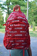 Рюкзак в стиле Supreme унисекс