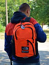 Рюкзак в стиле Supreme x TNF Backpack унисекс