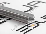 Накладний алюмінієвий профіль разом з розсіювачем 2 м для LED стрічки АЛ-02-1, фото 6