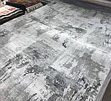 Светлый бамбуковый ковер с серо бежевым рисунком, фото 3