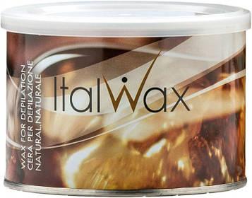 Теплий Віск для депіляції в банку ItalWax (Натуральний) 400мл