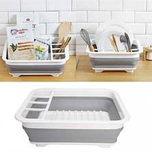 Стеллаж для хранения и сушилка для посуды, фото 3