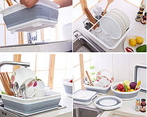 Стеллаж для хранения и сушилка для посуды- Новинка, фото 2