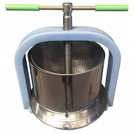 """Винтовой пресс для сока """" Лан """"  на 10 литров , нержавеющая сталь, фото 2"""